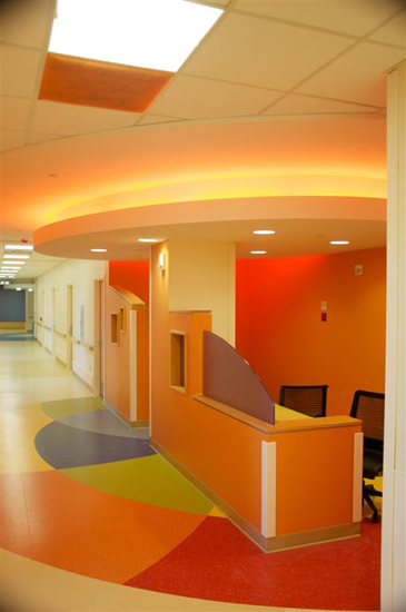 Midwest Children's Hospital, designed by The Lighting Practice