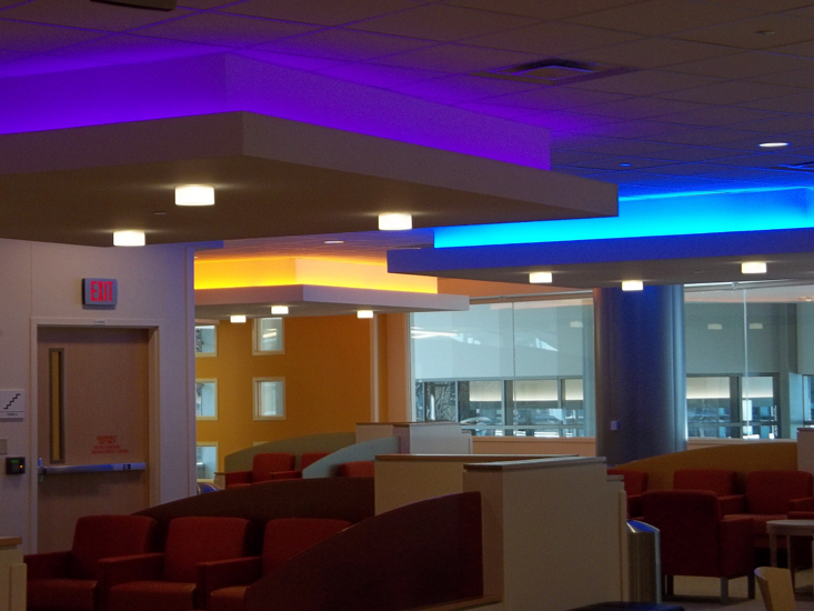 Midwest Children's Hospital designed by The Lighting Practice