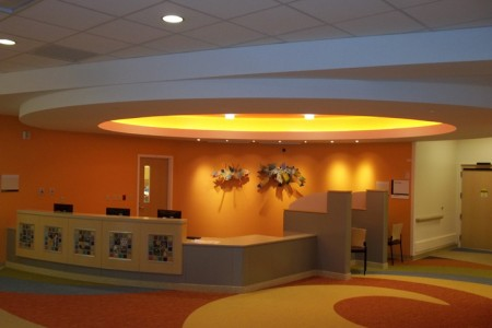 MidWest Children's Hopital by The Lighting Practice